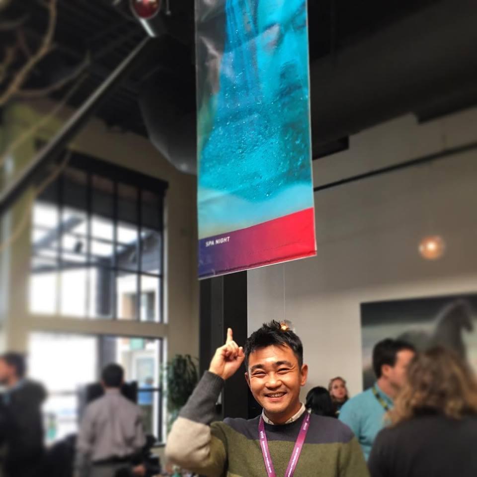 Ki Jin Kim at the EFILM|Company 3 event at Sundance 2016.