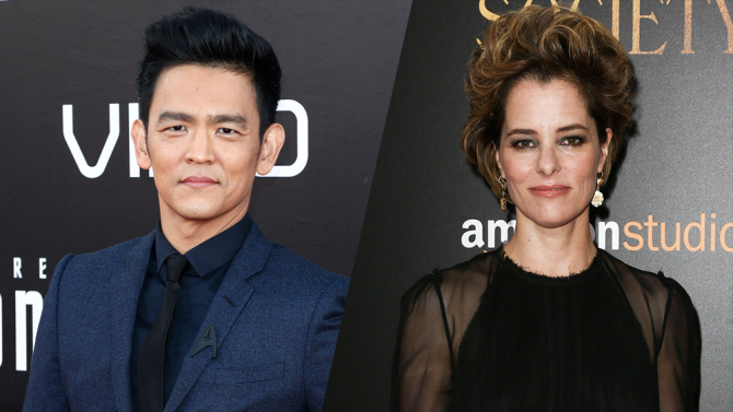 John Cho and Parker Posey