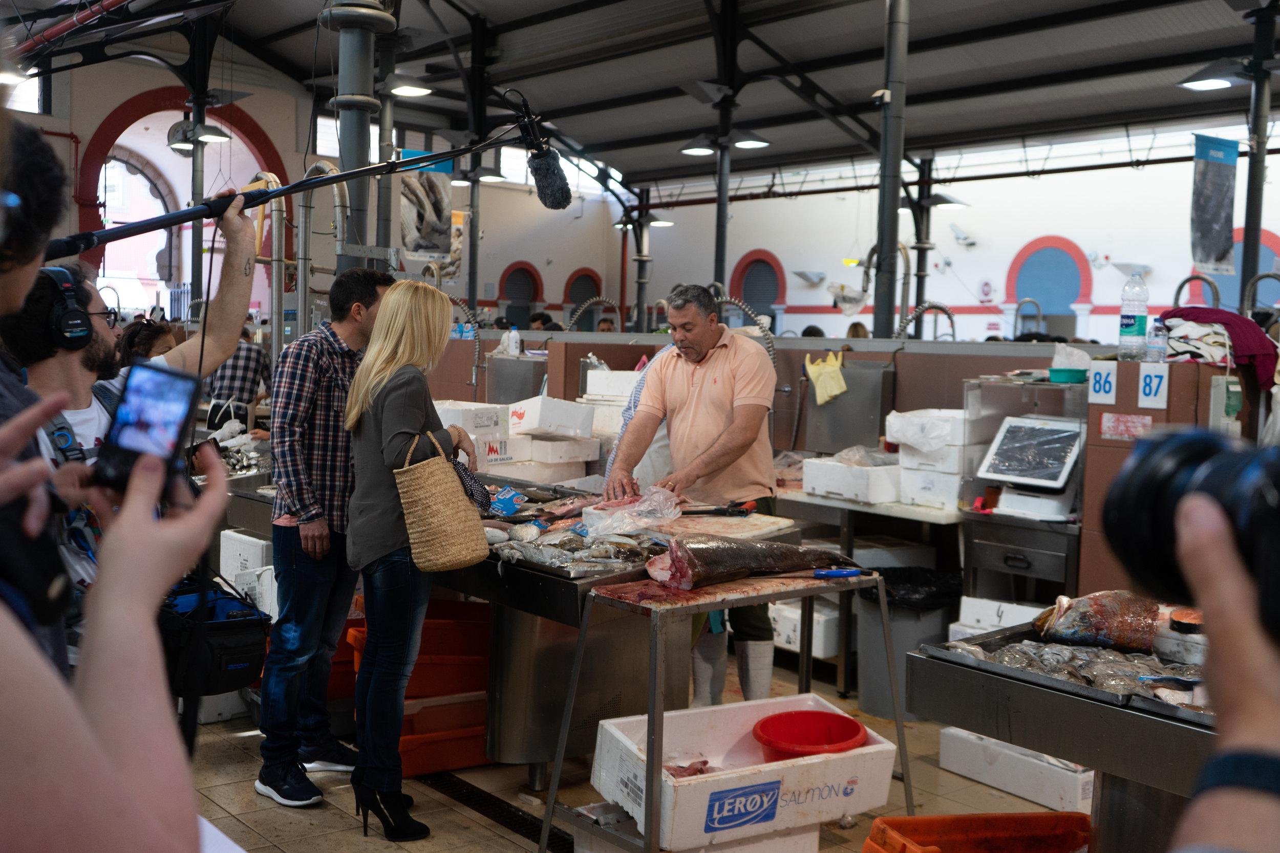 Mercado de Loulé - making of