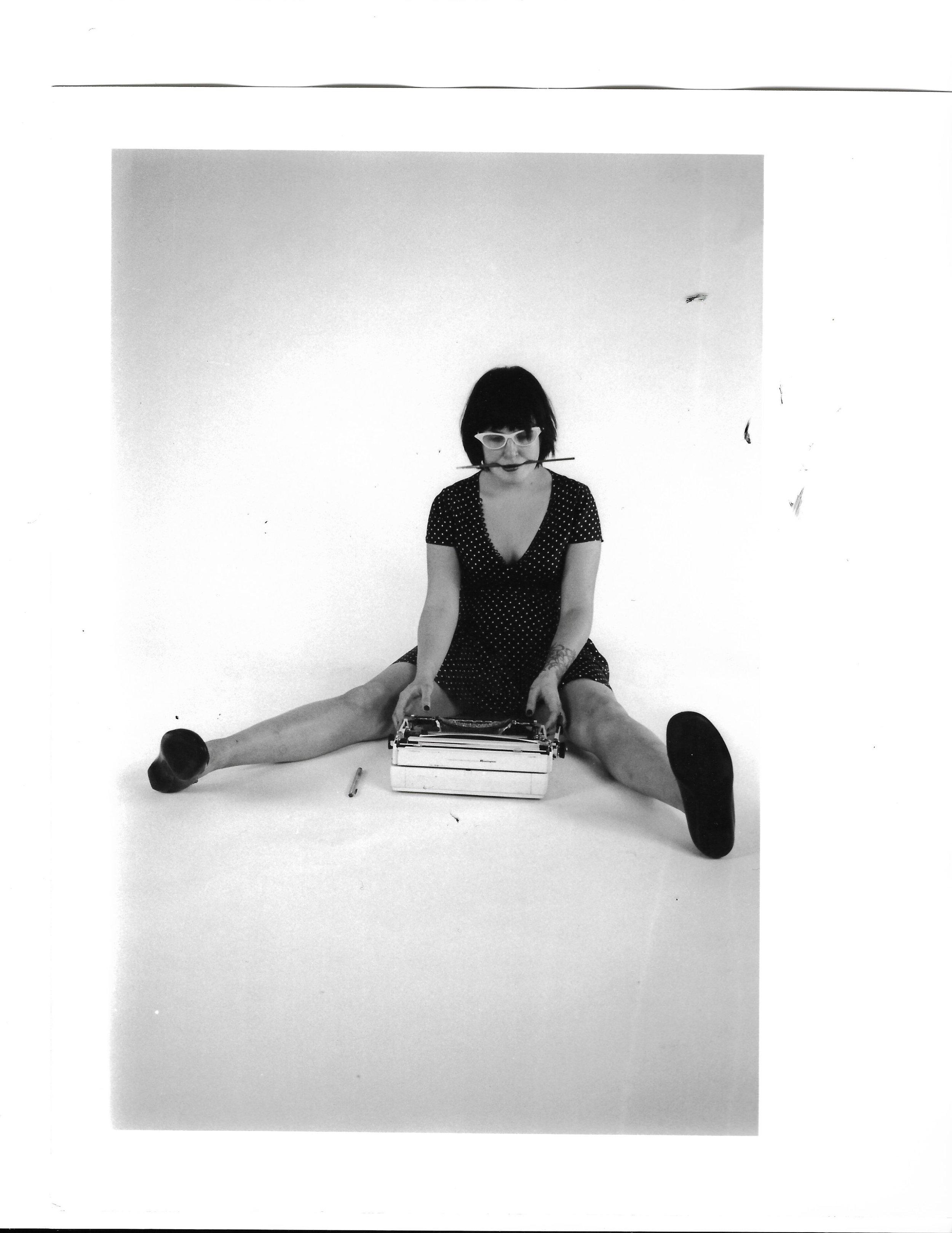 dorie, sva studio // 2004, nyc, 35mm b&w film