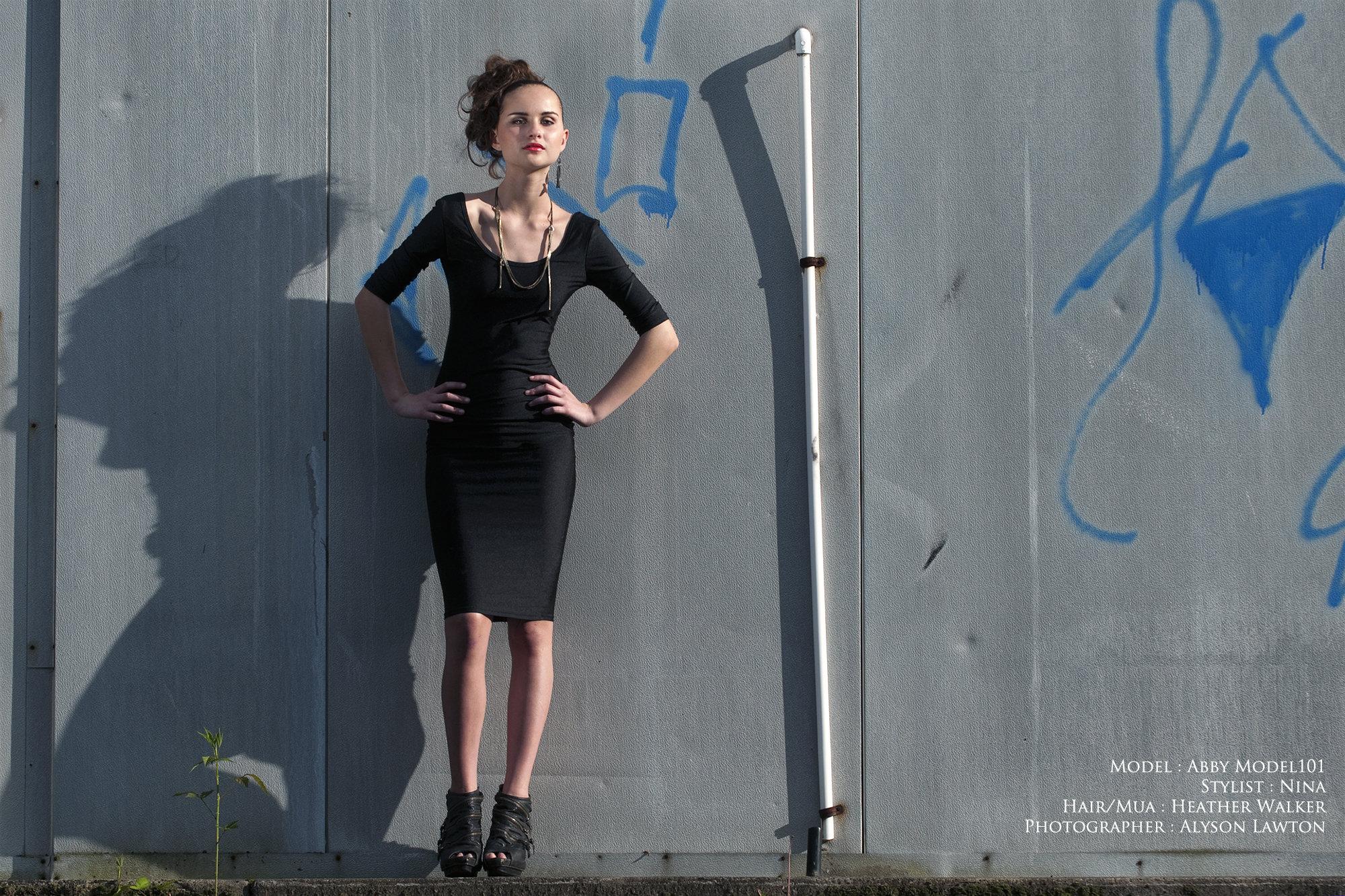 Clothing & Accessories: M101 | Hair | MUA: Heather Walker | Photographer: Alyson Lawton