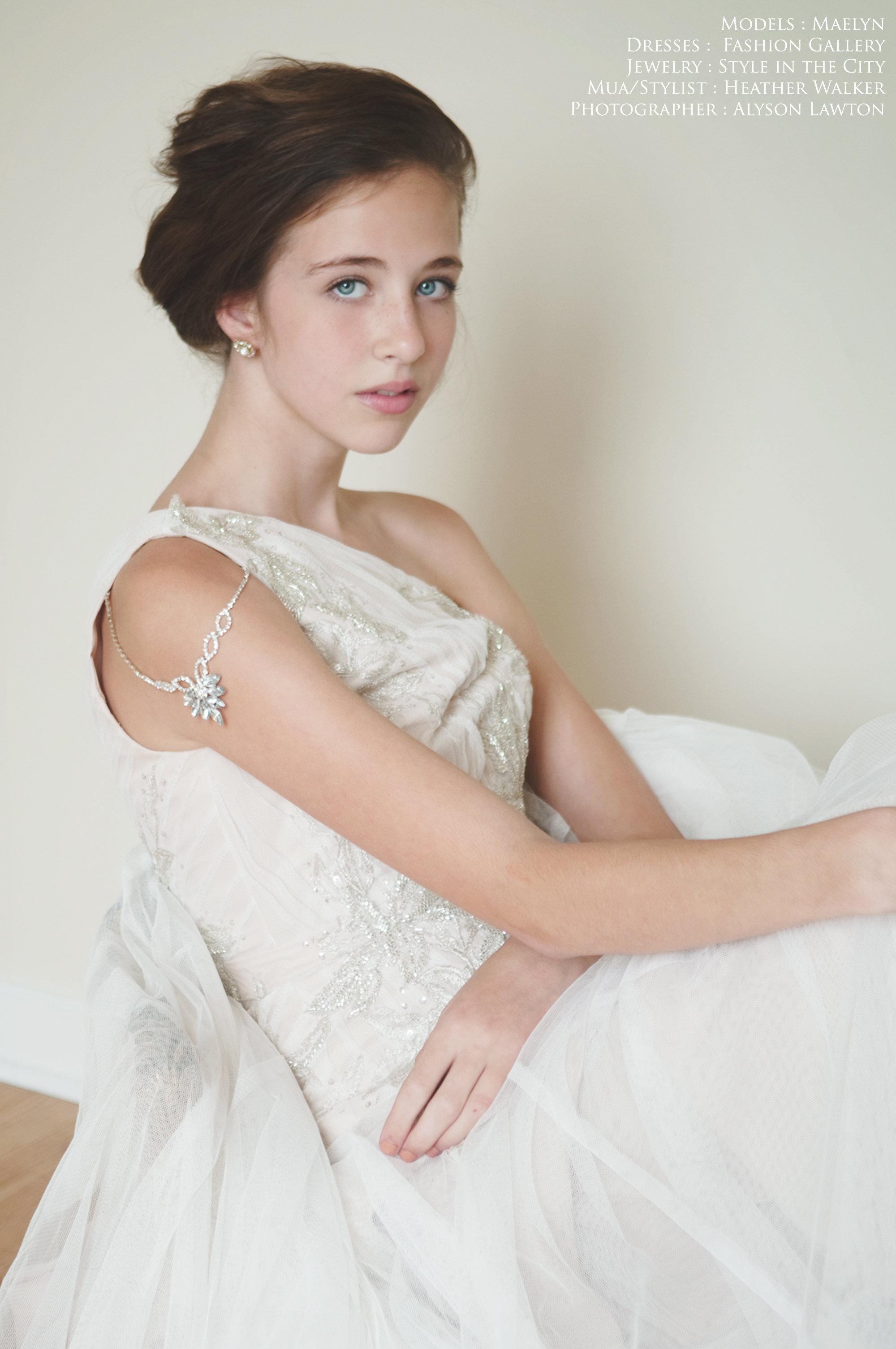 Clothing & Accessories: Alyson Lawton | Hair | MUA: Heather Walker | Photographer: Alyson Lawton