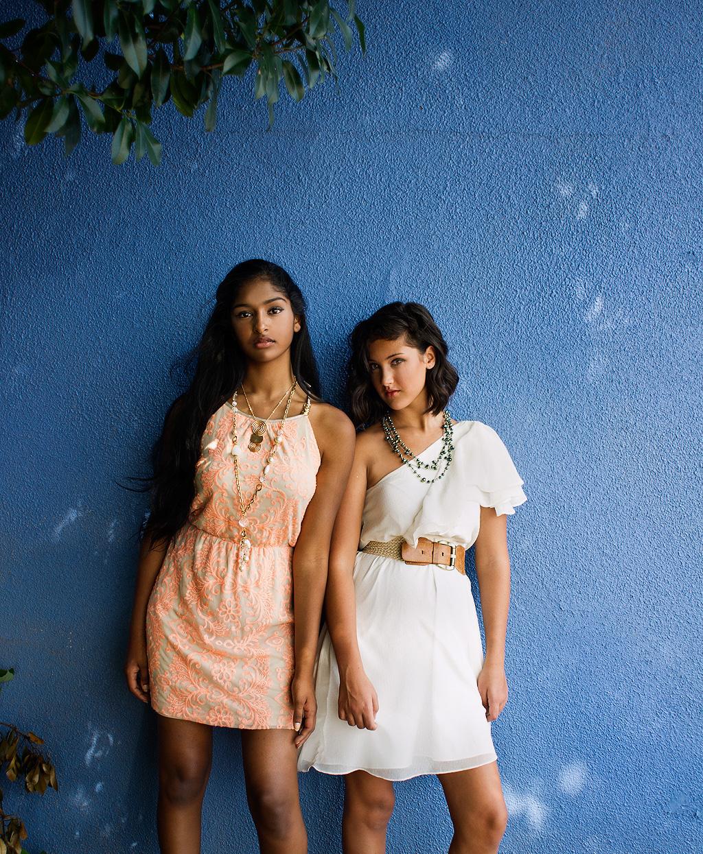Kaaviya and Alexandra Peach n White dresses_Cece_web.jpg