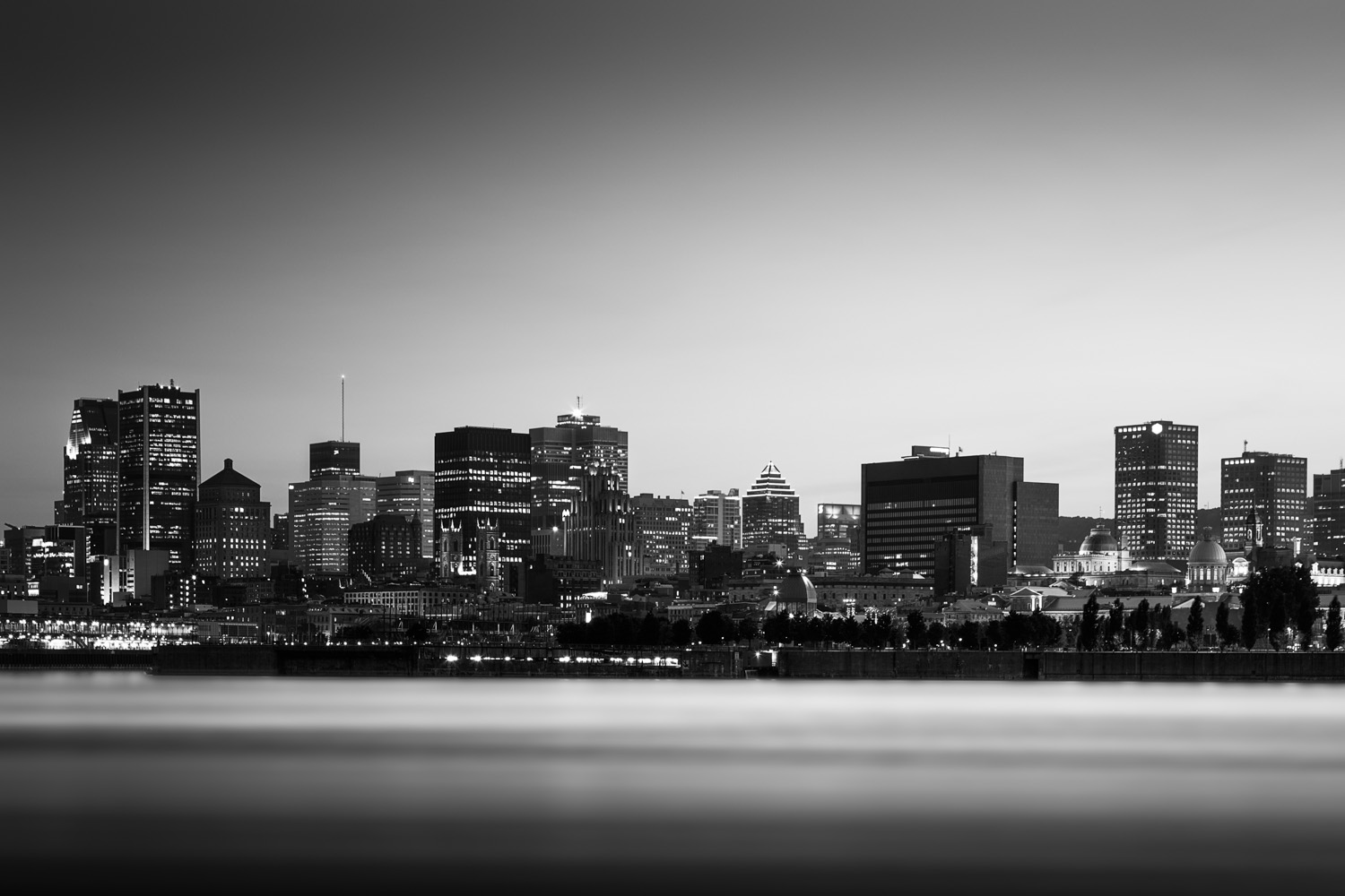 Montreal seen from Jean Drapeau