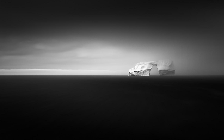 Iceberg in fog III