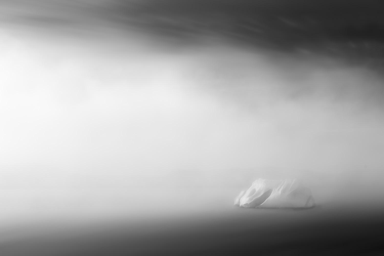 Iceberg in fog I