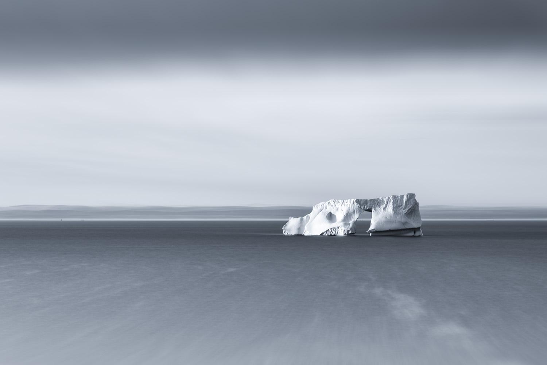 Iceberg with arch