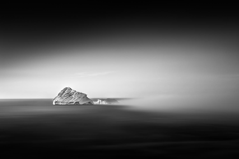 Iceberg in fog II