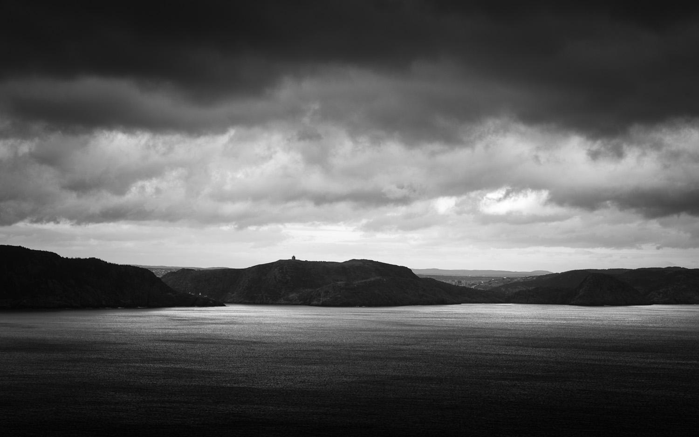 St. John's as seen from Blackhead