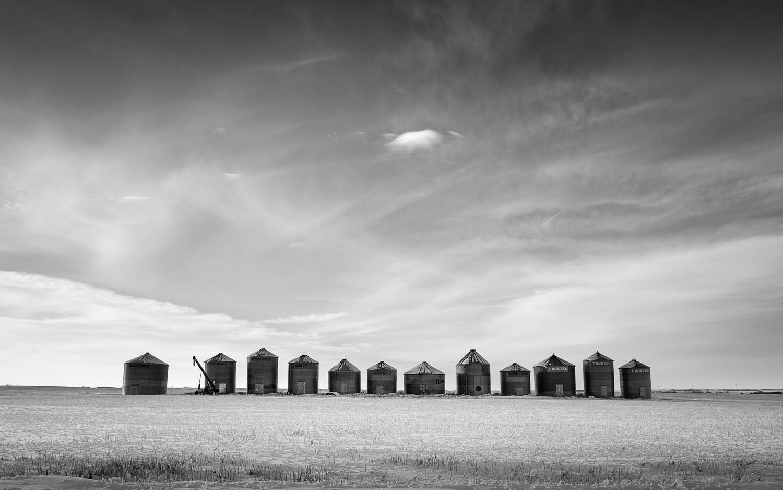 Saskatchewan silos