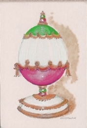 one of the watercolor egg mins I do - fun