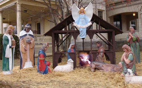 Find full photo gallery https://ellefagan.com/nativity-restoration-photos-2007