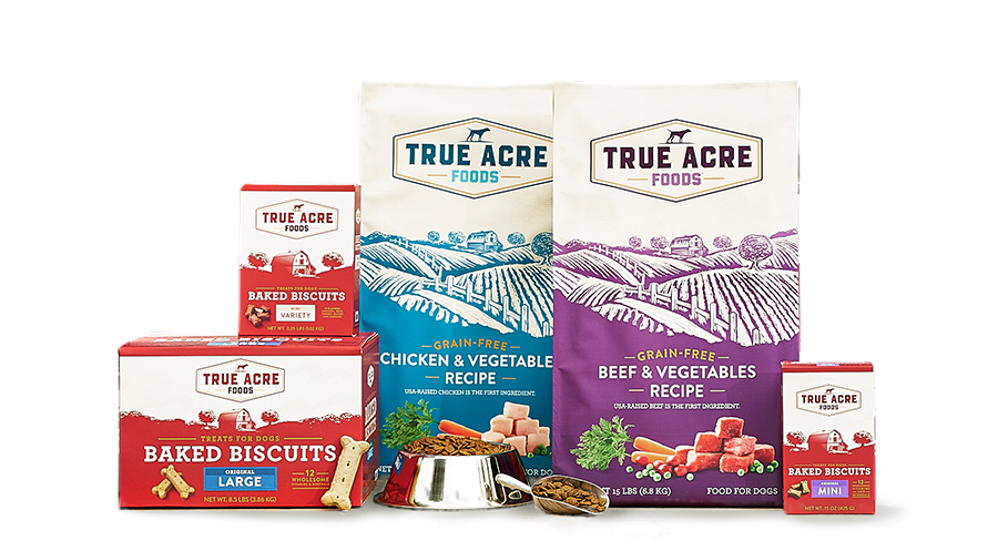 True Acre Foods Family | Designed by David Blank and Connor McCauley
