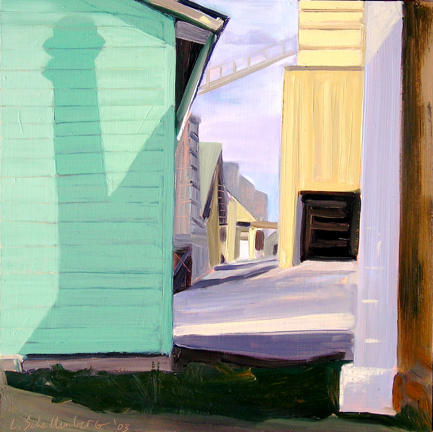 SOLD Feed Mill 16x16 private collection