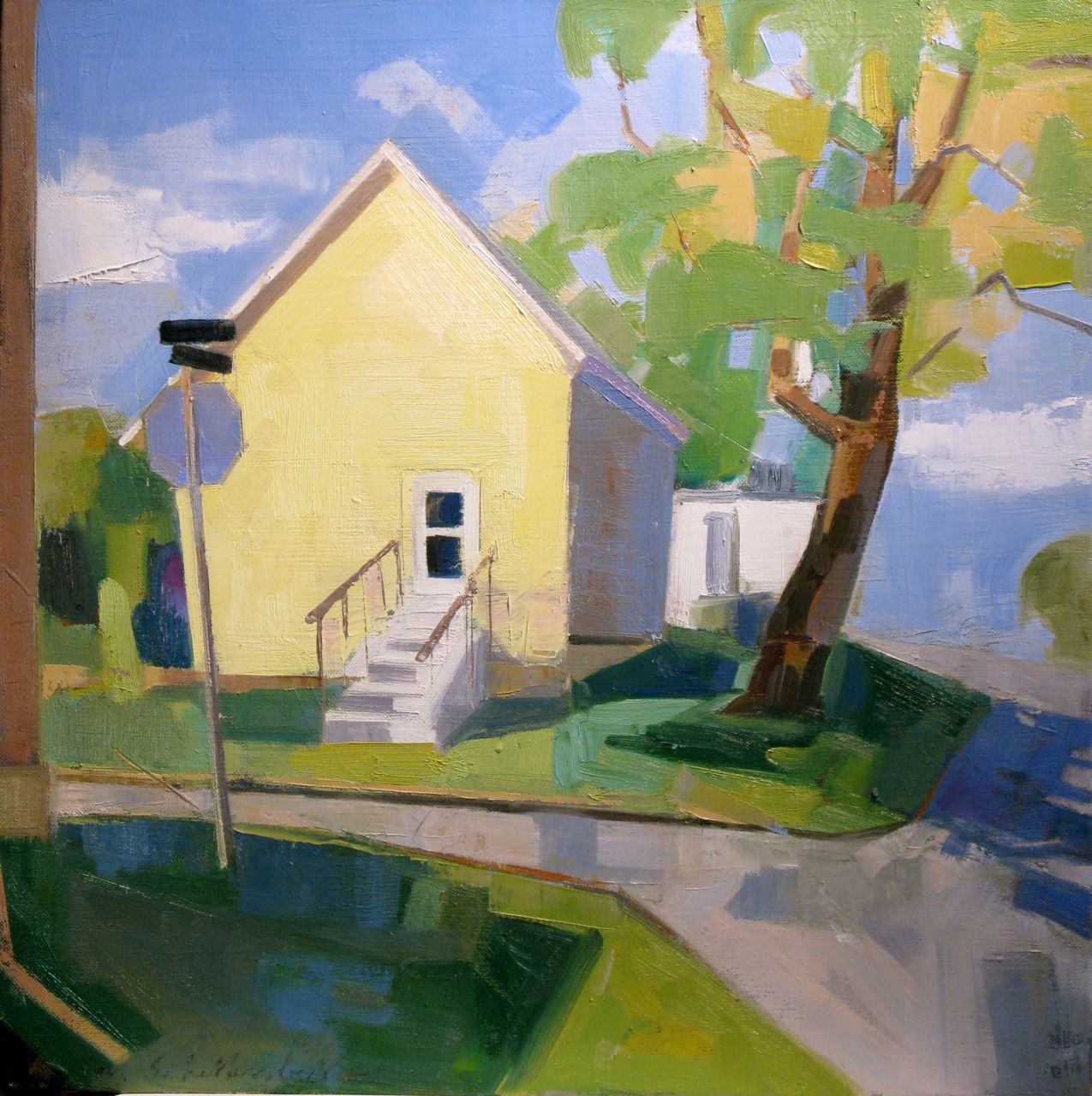 SOLD Corner House 20x20 private collection