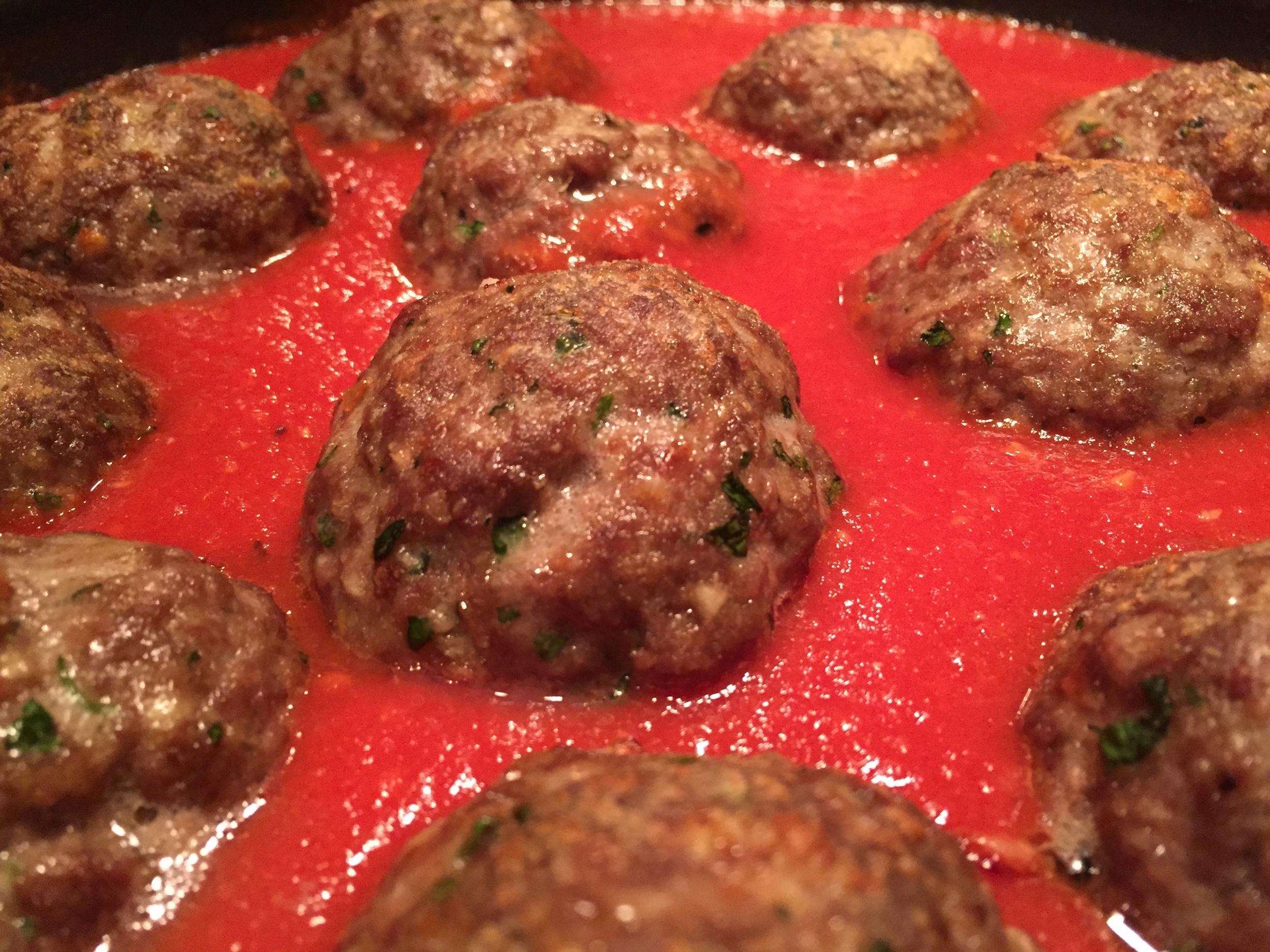 Chef Jake's Meatballs