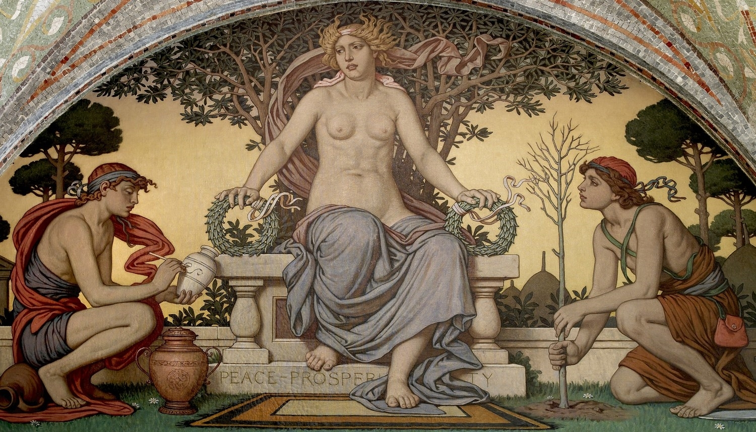 Peace & Prosperity, Elihu Vedder (1836–1923)