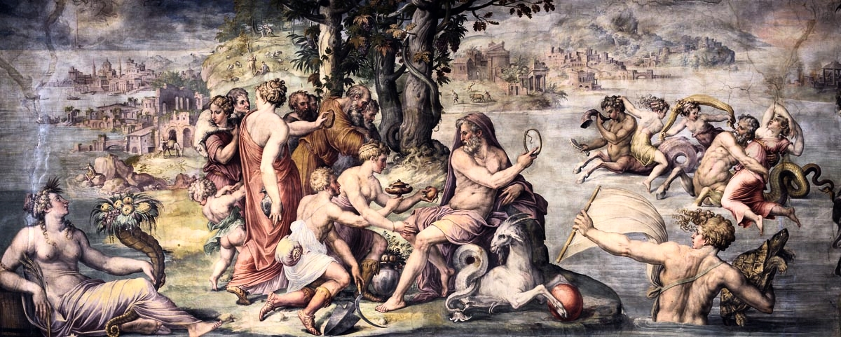 First Fruites of the Earth offered to Saturn ~ Giorgio Vasari, 1511–1574