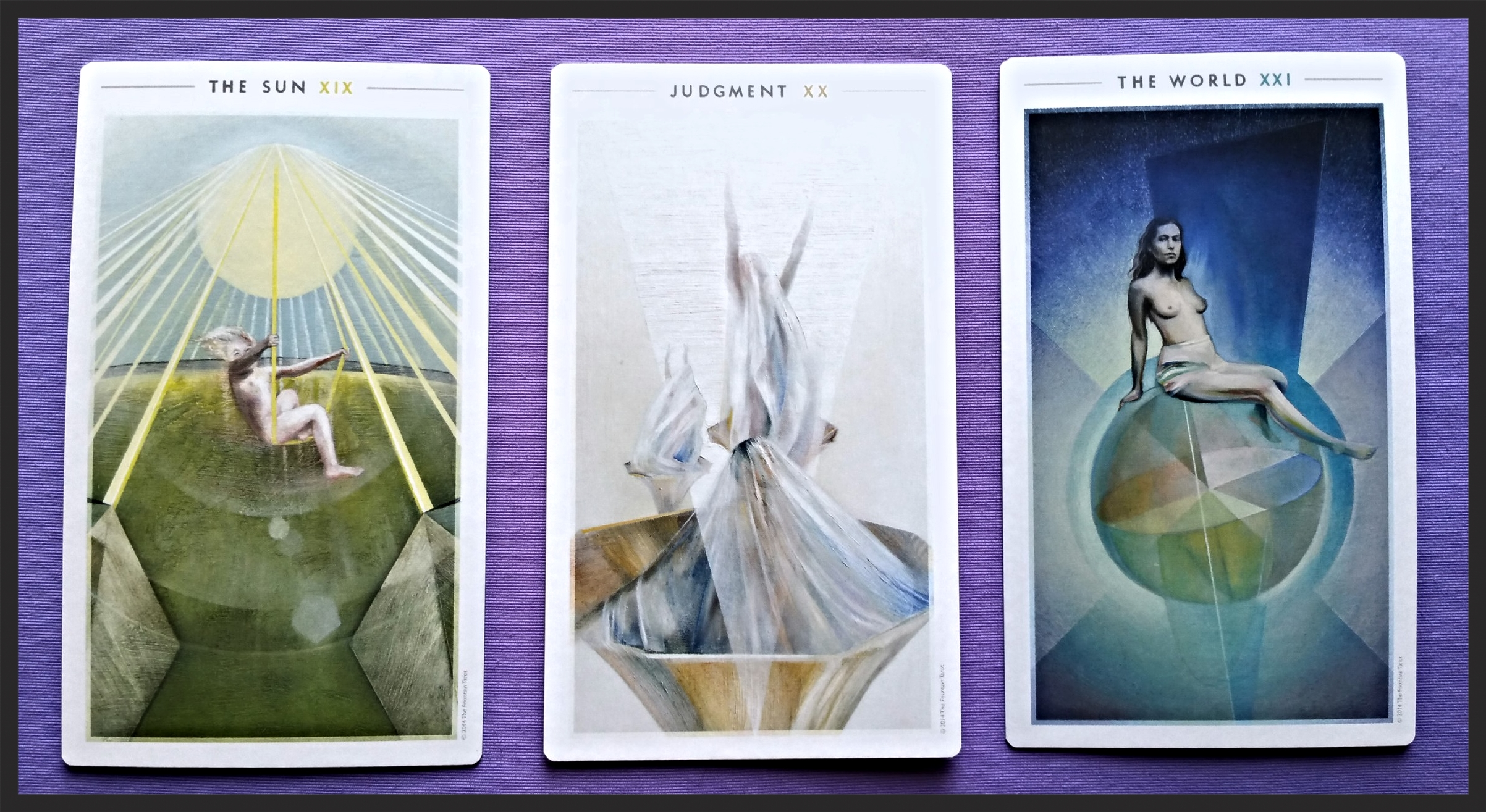 The Fountain Tarot Major Arcana