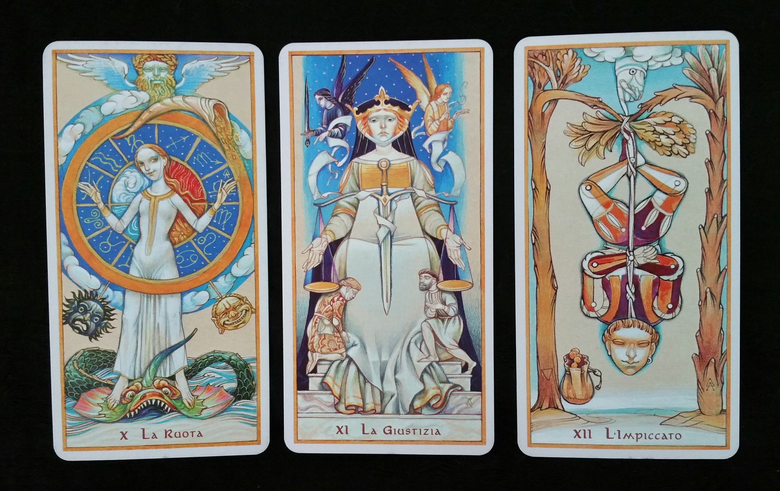 Daniloff Tarot Major Arcana