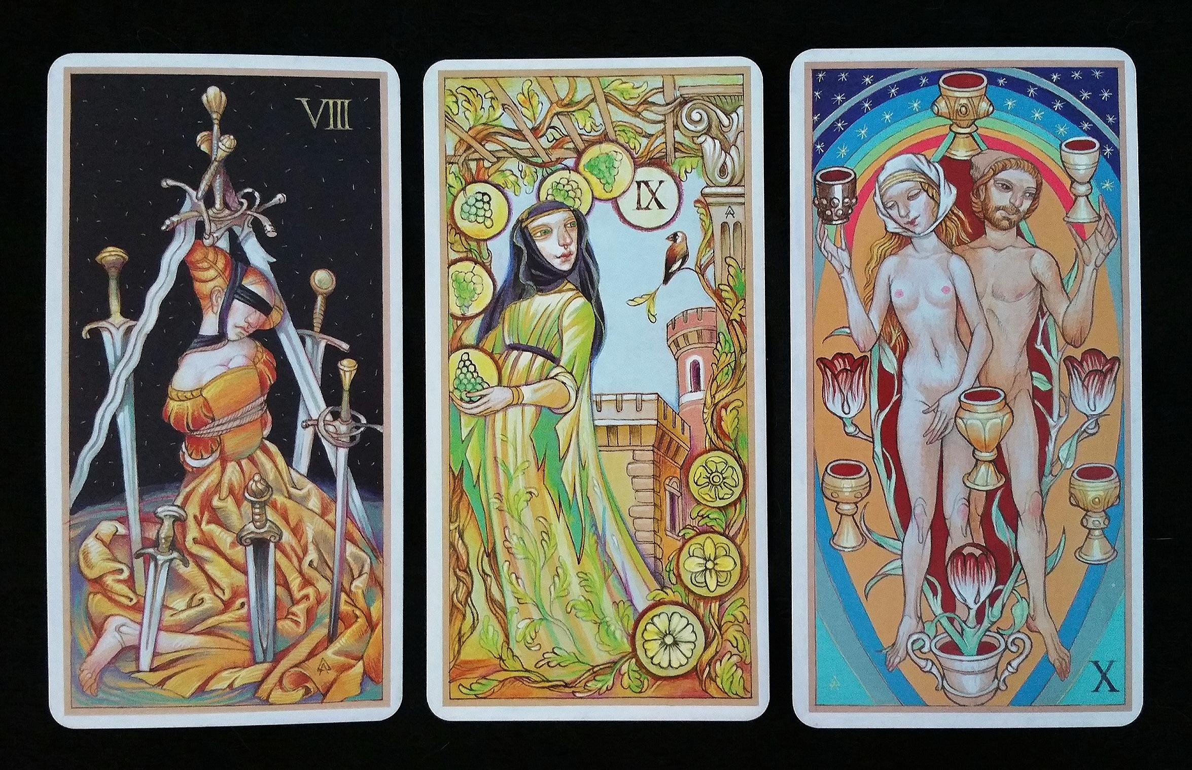 Daniloff Tarot ~ Minor Cards