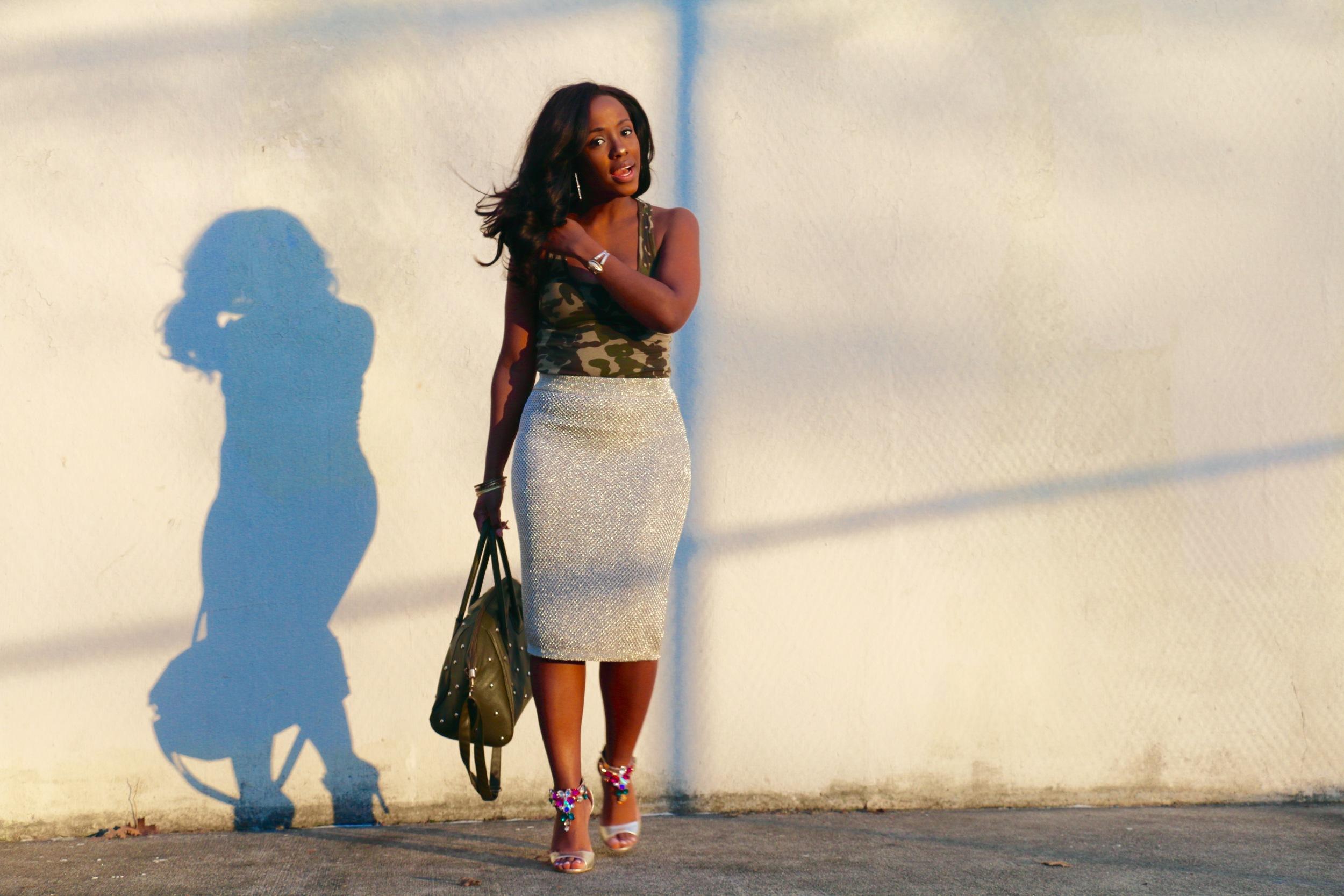 camo_army print_midi skirt_gold skirt