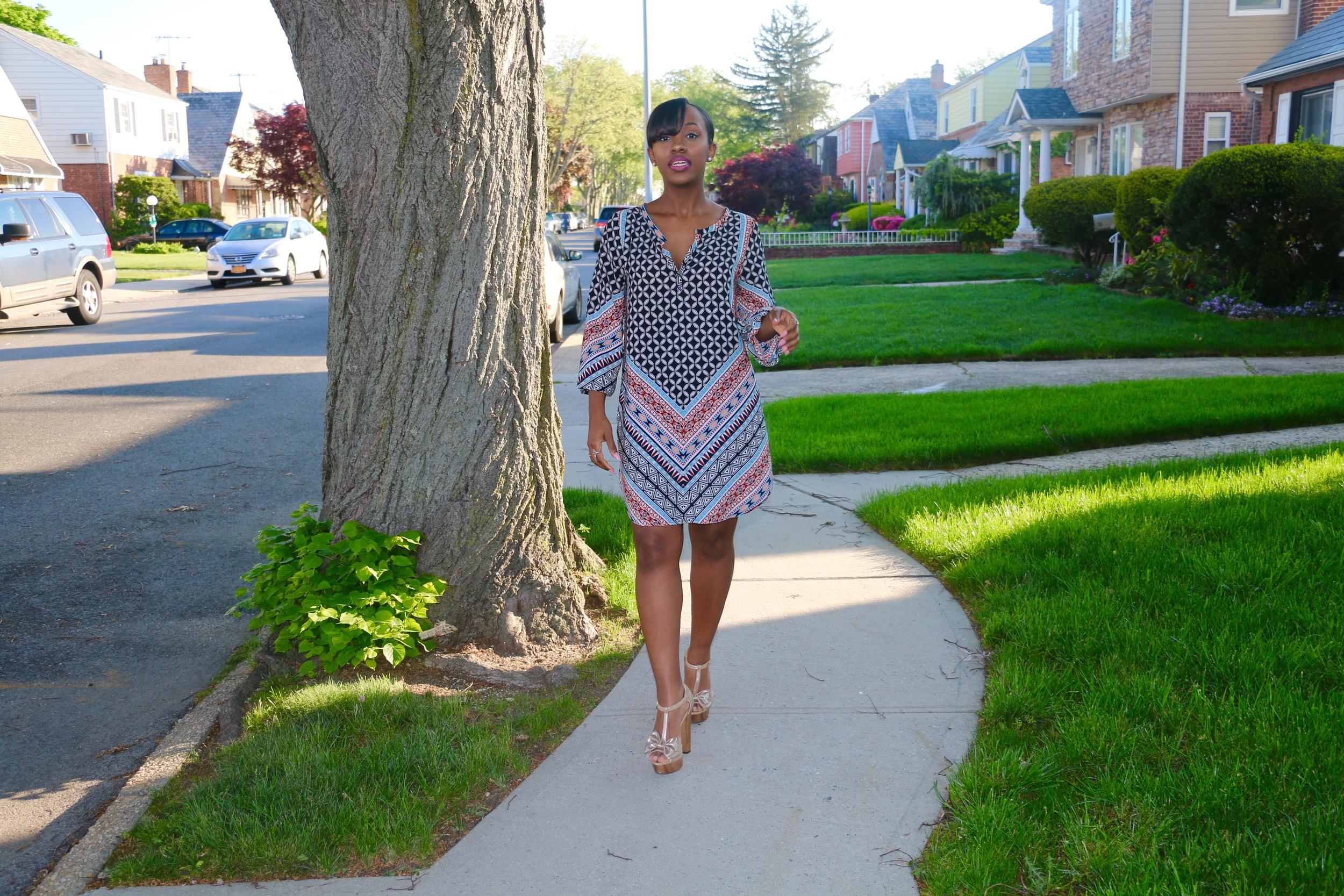 printed tunic_shift dress