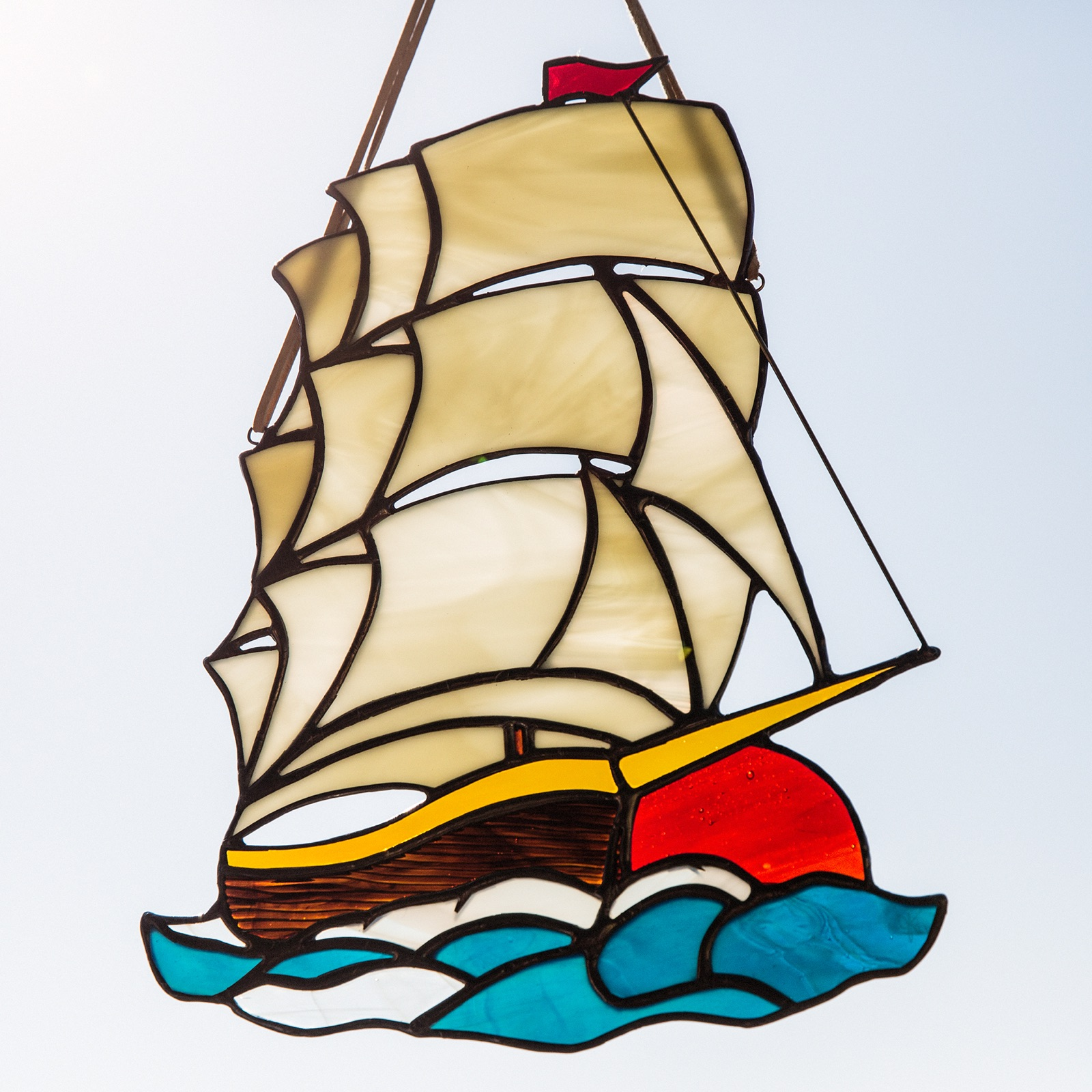 Sailor Jerry inspired ship for a nursery