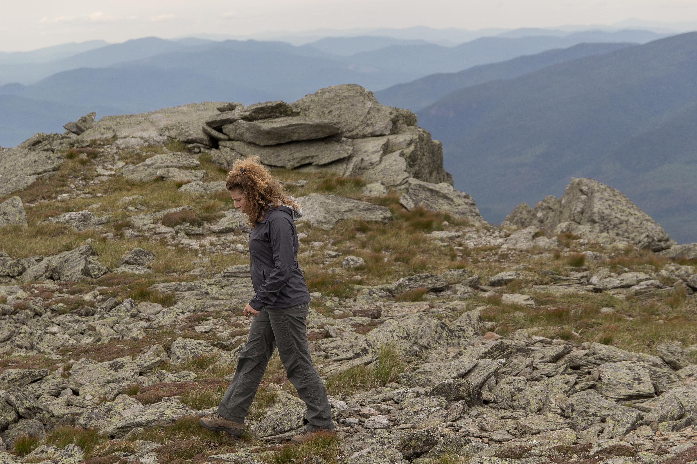 The top of Boott Spur Peak (5,492').