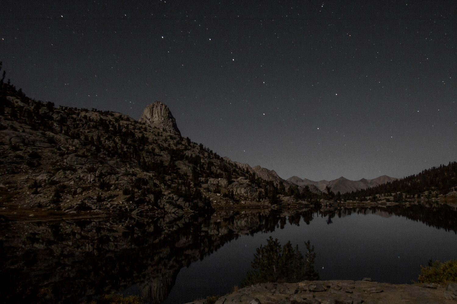 The Big Dipper, Fin Dome, and Middle Rae Lake