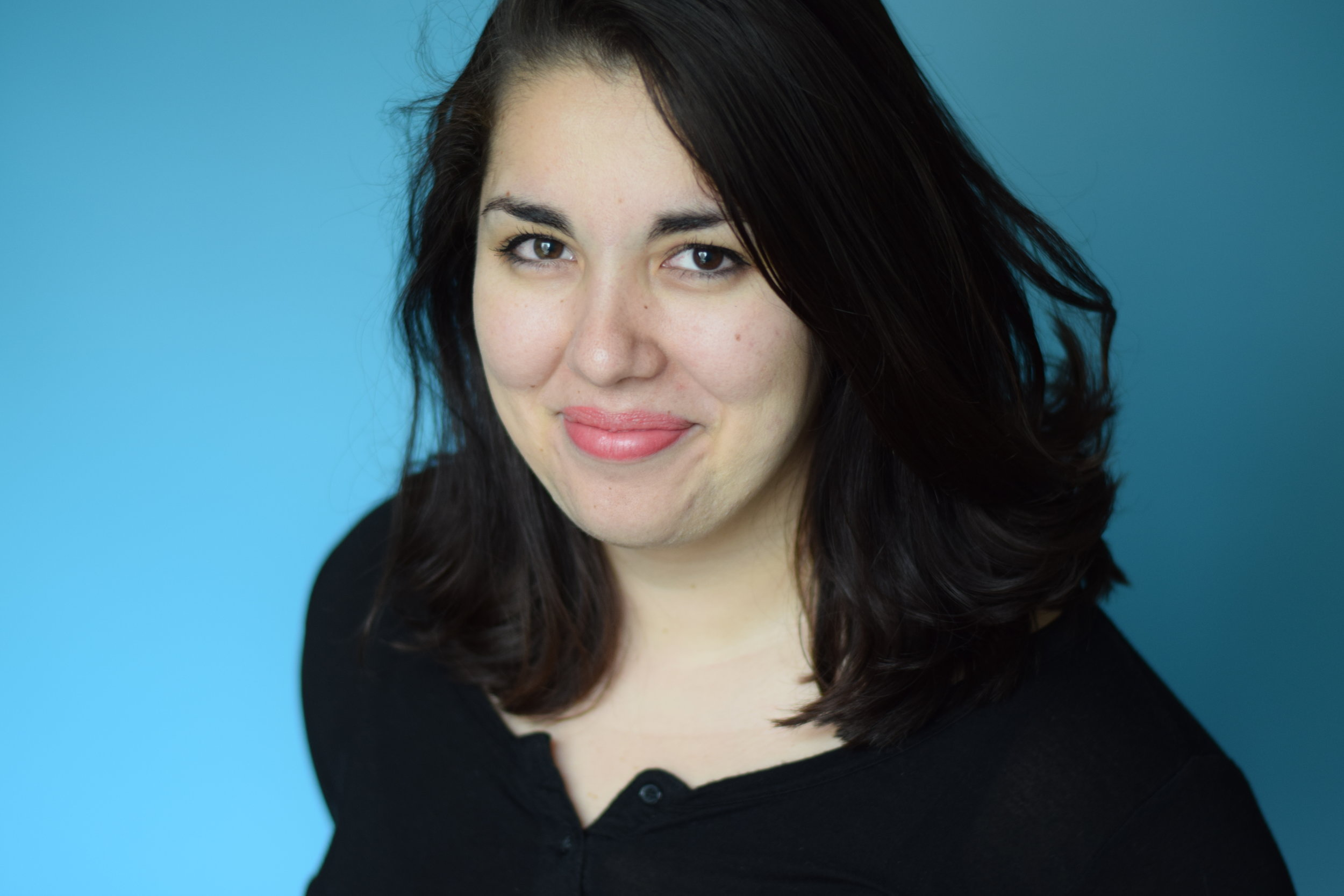 Ana Bretón - is currently a twice-Emmy nominated digital producer for Full Frontal with Samantha Bee.In her time at Full Frontal, she has directed and produced hundreds of short-form comedic videos. She has also co-produced several field pieces for the show, focusing on subjects like asylum seekers at the U.S./Mexico border, immigrants in the military, and feminist rescue brigades in Mexico.In her most ambitious directing role, Ana directed the TV pilot for the docu-series RUN, where a team of expert women transform the political campaign of an up-and-coming woman running for office. Like Queer Eye, but for politics. Ana prioritized hiring a diverse crew of women and people of color, of all sexual orientations. She's currently shopping the pilot to various networks.Ana has over a decade of working in film production, focusing on comedy series and documentaries. She's a skilled director, producer, editor and cinematographer (including drones!) She was a camera operator & researcher for the feature-length documentary, In Football We Trust, which premiered at the Sundance Film Festival in 2015 and won a regional Emmy in 2017.She's proud to be one of the few Latinxs to have been nominated for an Emmy in 2017 and 2018.She was born in Mexico City and currently lives in NYC. Si, hablo Español.