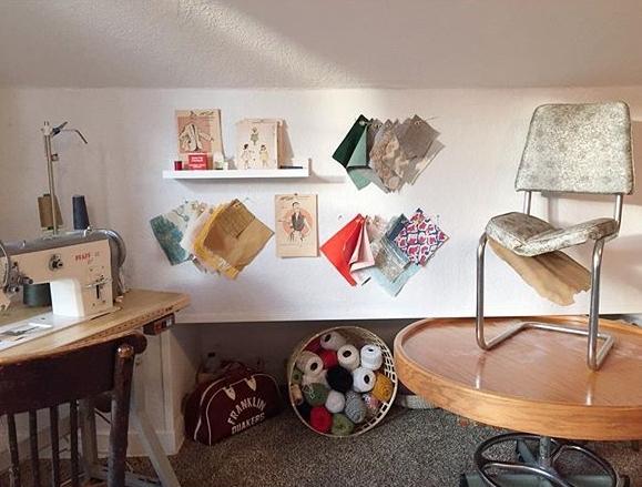 Cristen'swork space -