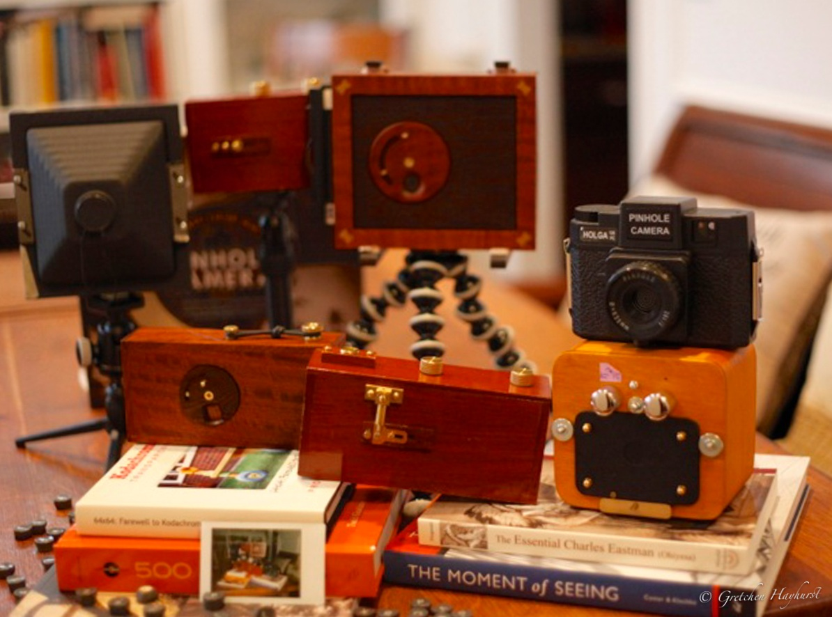 Gretchen's camera collection