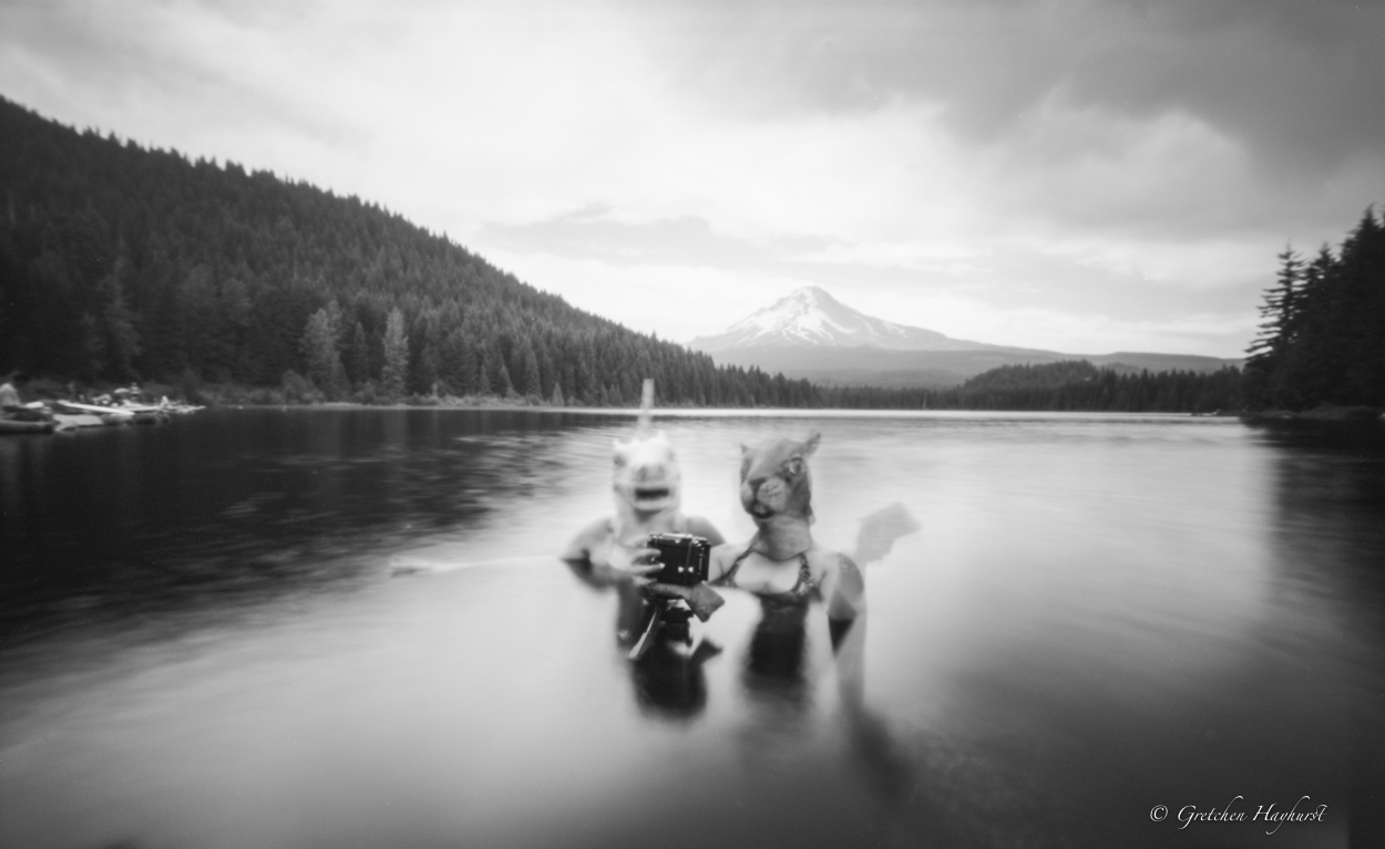 Trillium Lake animals