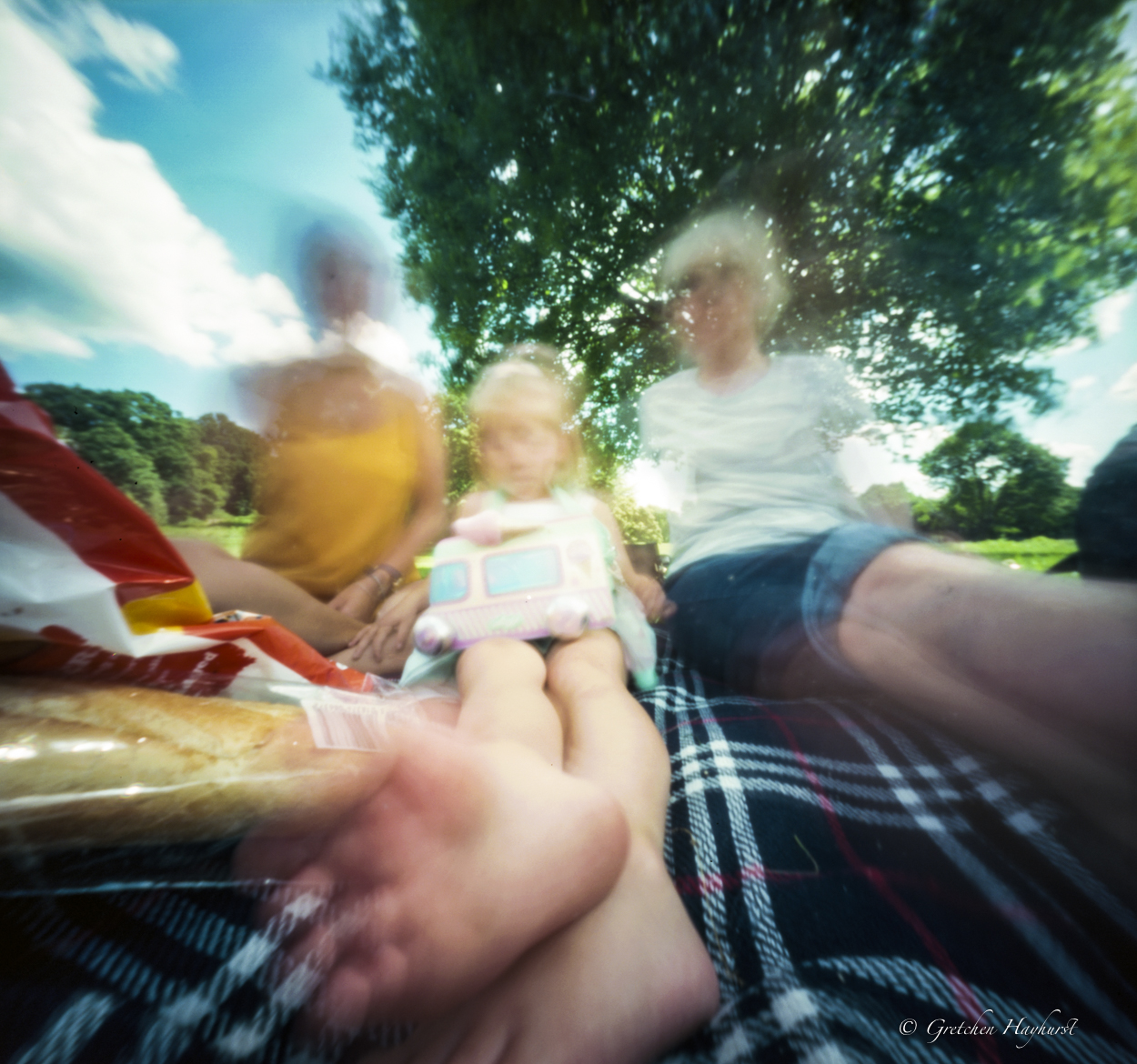 friends in a parkPinhole Photography GretchenHayhurst, Madeon23rd blog