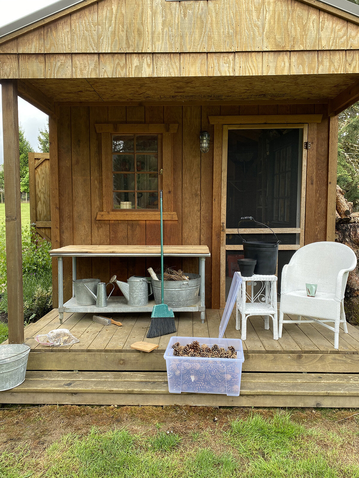 Garden Shed Makeover Made On 23rd