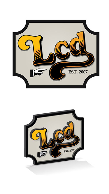 """LCD """"Cheer's"""" Sign -  Designed to fit nicely on the chalk wall, or anywhere else. This piece relied on the advanced use of a Colex router to cut and mill out of .5"""" (or thicker material"""