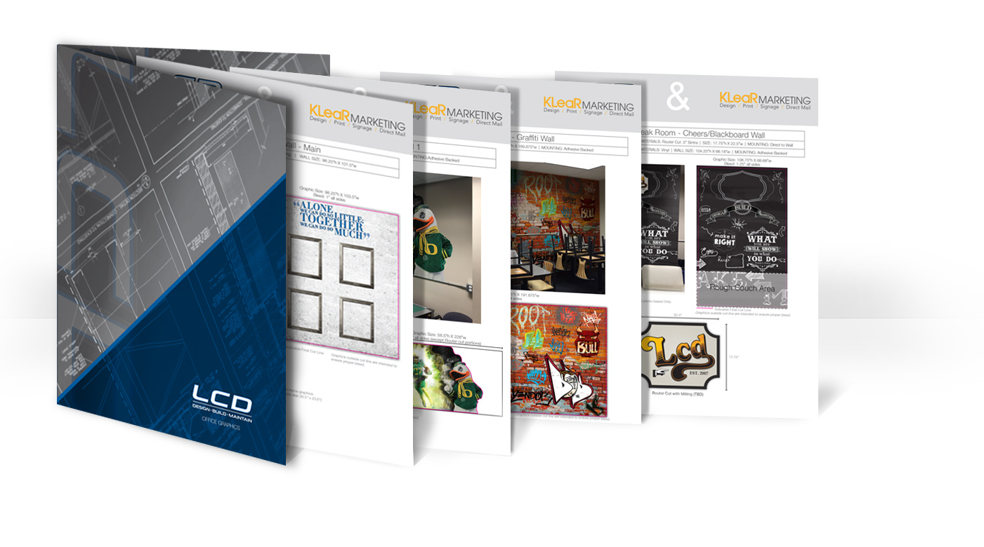 A refresh was needed - to reflect the company's goals, spirit, and community. Not all pieces made the final cut, but here's a snap shot of some of the finer examples of this larger project.