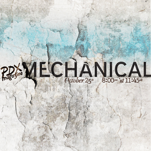 PDX Magazine/Mechanical -  Opening Event/Timeline graphic.