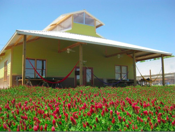 LEED-certified Barn Building