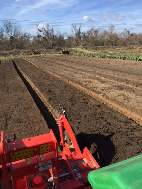Prepping Fields at Heathwood for Spring planting