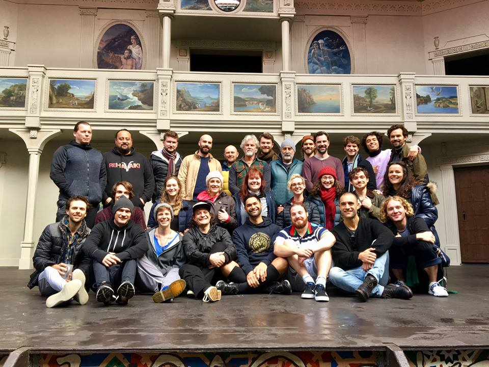 Pop Up Globe Sydney Cast
