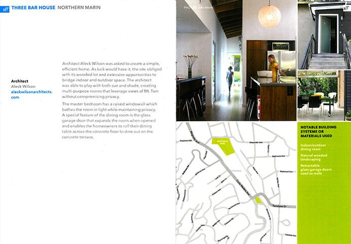 Dwell + Marin Magazine  Modern Home Tours