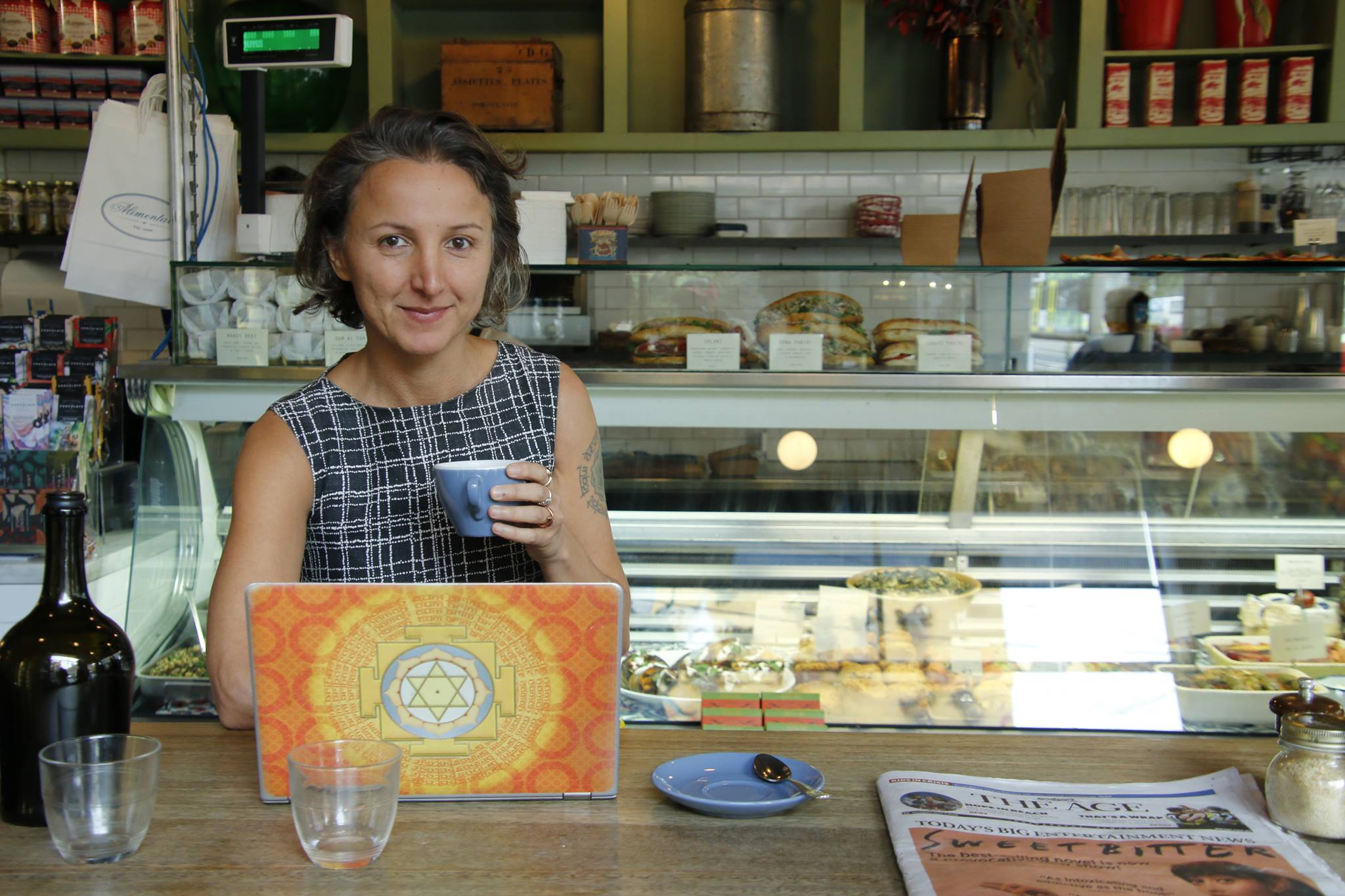 Sandra Radja - Clinical Ayurvedic Specialist, Writer, Art & Music Lover, Rescue Dogs Supporter and Small Business Advisor.