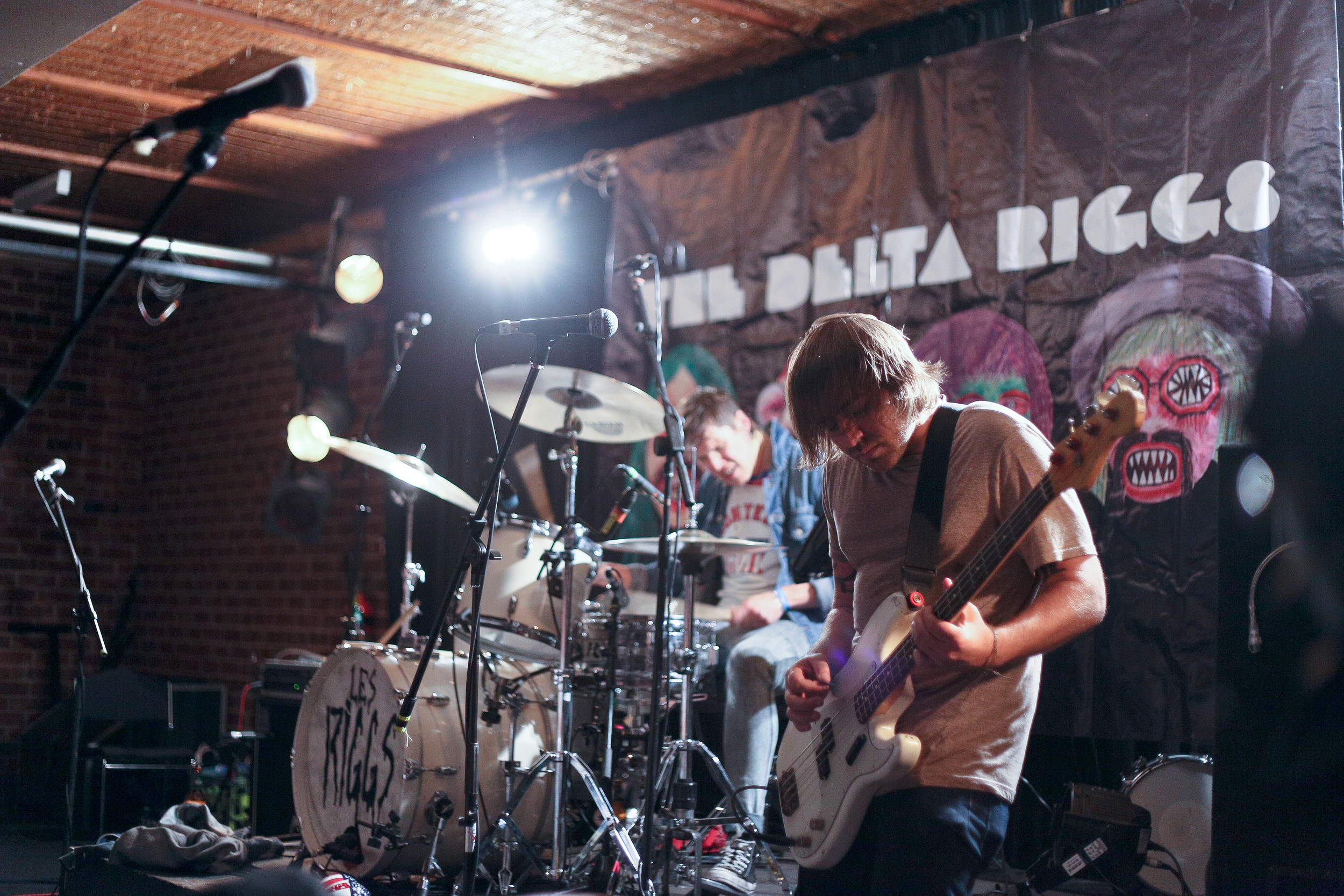 The Delta Riggs live at Adelaide Uni Bar last November