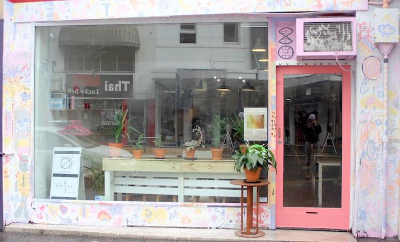 Parsec Cafe shop front. Photo via Five Thousand