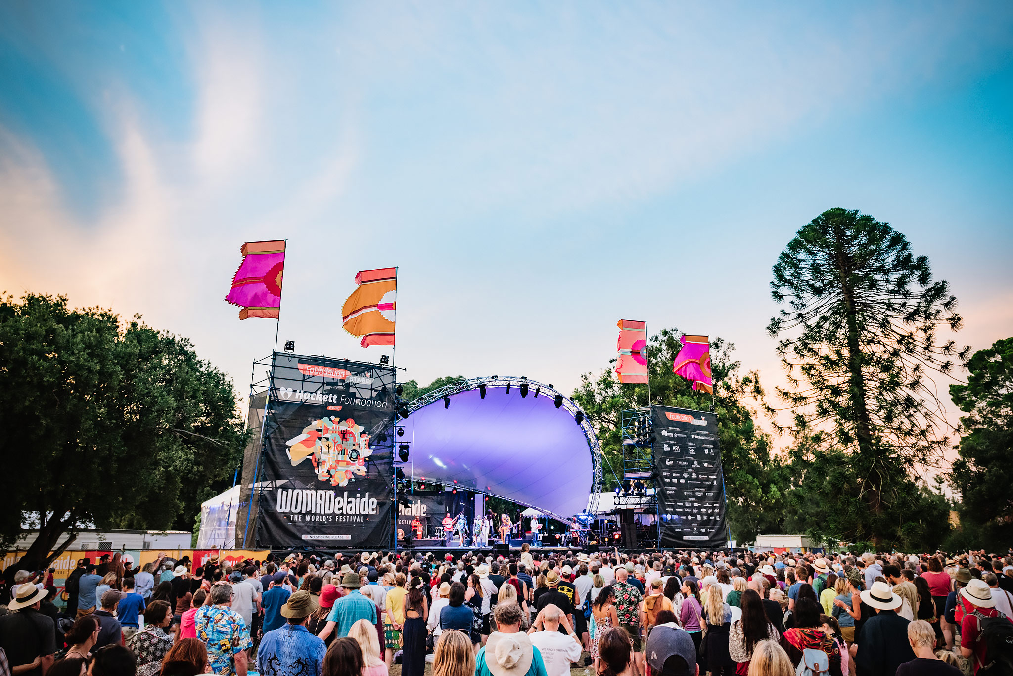 Sunset at Womad