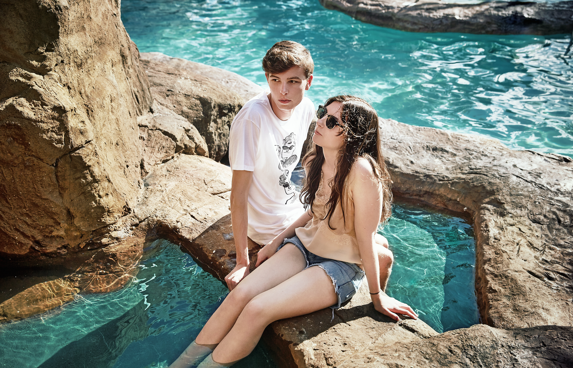 Conor and Naomi, Mosquito Coast. Photo by George Foster.