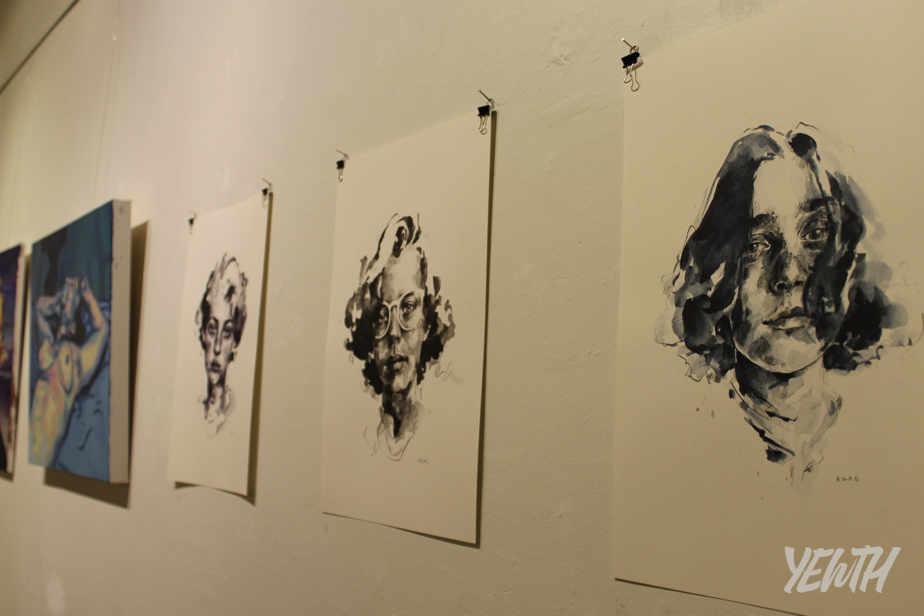 Featured work by artist Kate Gagliardi