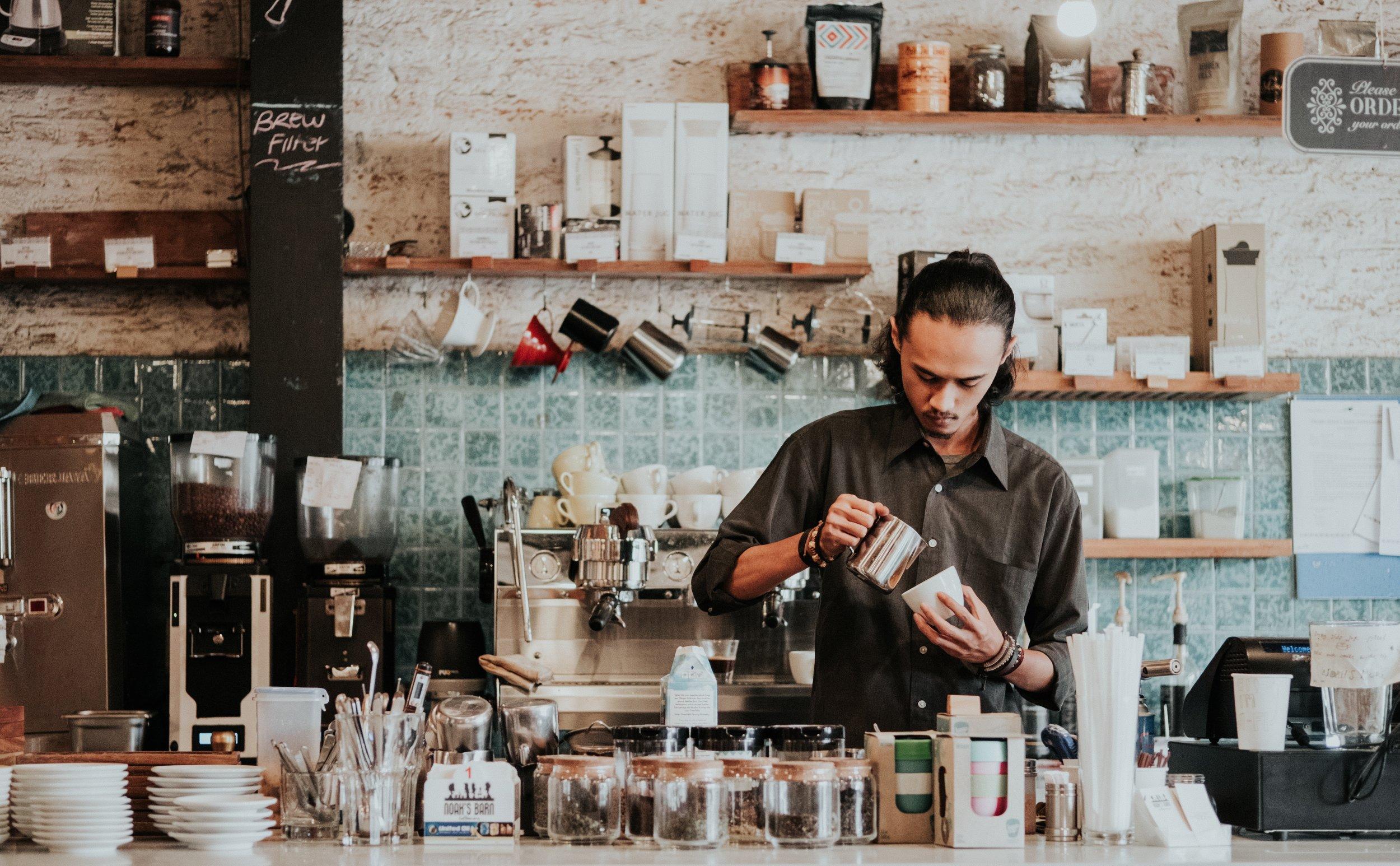 Cafe's -